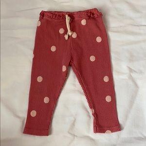 Zara Baby Ribbed Leggings